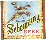 #ZLBE018 - Sebewaing Beer Labels - Pheasant