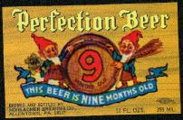 #ZLBE020 - Perfection Beer Label