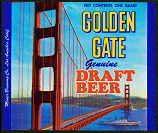 #ZLBE023 - Golden Gate Draft Beer Label