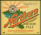 #ZLBE025 - Northern Pale Beer IRTP Label