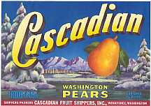 #ZLC053 - Cascadian Pear Crate Label