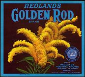 #ZLC064 - Golden Rod Orange Crate Label