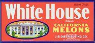#ZLC068 - White House Melons Label