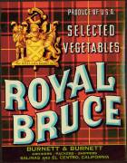 #ZLC071 - Royal Bruce Vegetable Crate Label
