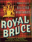 #ZLC071 - Royal Bruce Vegetable Crate Label