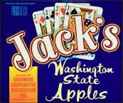 #ZLC079 - Jack's Brand Apple Crate Label