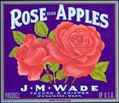 #ZLC080 - Rose Brand Apple Crate Label
