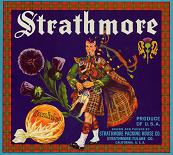 #ZLC107 - Strathmore Sunkist Orange Crate Label