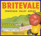 #ZLC127 - Britevale Apple Crate Label