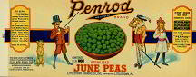 #ZLCA048 - Penrod Tomatoes Label - Booth Tarkington