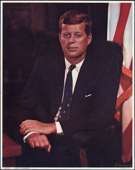 #PL347 - Large John F. Kennedy Promotional Picture