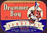 #ZLCA060 - Drummer Boy Sardines Label