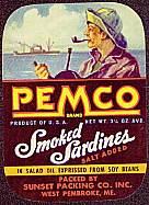 #ZLCA062 - Pemco Sardines Label