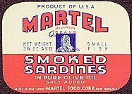 #ZLCA063 - Martel Sardines Label