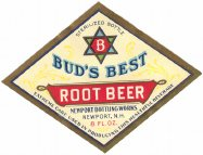 #ZLS069 - Group of 5 Bud's Best Root Beer Labels