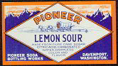 #ZLS074 - Pioneer Lemon Sour Soda Label
