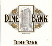 #ZLSC008 - Dime Bank Cigar Box Label