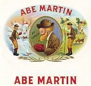 #ZLSC030 - Abe Martin Inner Cigar Box Label
