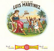 #ZLSC036 - Luis Martinez Inner Cigar Label