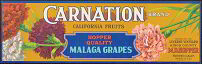 #ZLSG024 - Carnation Grape Crate Label