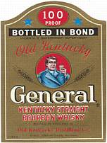 #ZLW016 - Old Kentucky General Whiskey Label