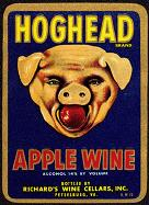 #ZLW034 - Hoghead Apple Wine Label