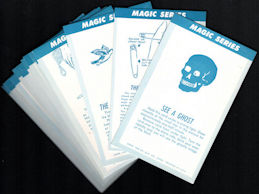 #ZZA009 - Complete Set (16 cards) 1956 Exhibit Supply Magic Series Cards