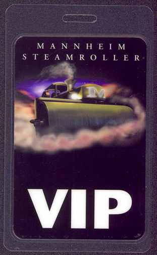 "##MUSICBP0014 - Mannheim Steamroller Laminated OTTO Backstage Pass from the ""1999 Tour"""