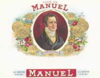#ZLSC057 - Flor de Manuel Cigar Label