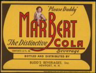 #ZLS090 - MarBert Cola Label