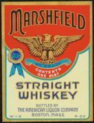 #ZLW066 - Marshfield Whiskey Label