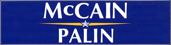 #PL149 - Group of 12 John McCain/Sarah Palin Bumper Stickers