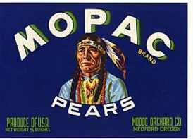 #ZLC008 - Mopac Pears Crate Label