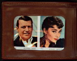 #CH123  - Wallet with Movie Star Pictures From the 1950s