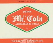 #ZLS082 - Mr Cola Grapette Bank Label