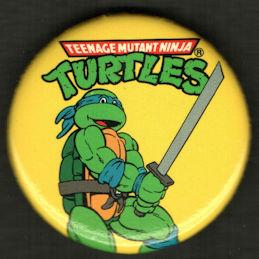 #CH469 - Group of 4 Licensed Teenage Mutant Ninja Turtle Pinbacks