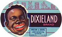 #ZLCA*031 - Dixieland Watermelon Crate Label
