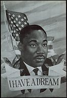 #NE018 - Martin Luther King Memorial Postcard