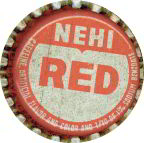 #BC125 - Early Nehi Red Soda Cap