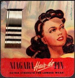 #CS421 - Full Card of Niagara Hair-Do Hairpins