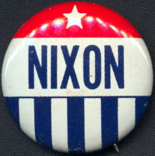 #PL342 - Nixon Pinback from the Presidential Campaign