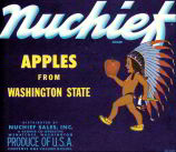 #ZLC146.5 - Nuchief Apple Crate Label
