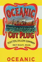 #ZLT019 - Oceanic Plug Tobacco Wrapper