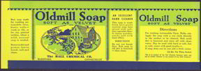 #ZLCA080 - Oldmill Soap Can Label