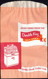 #PC112 - Group of 4 Double Kay Nut Shop Bags - Chicago 1953