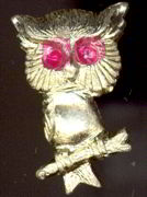 #TY300 - Metal Owl Pin