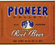 #ZLS081 - Pioneer Valley Old Fashion Creamy Root Beer Label