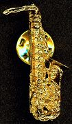 #PL054 - Bill Clinton Saxaphone Pin