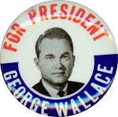 #PL069 - George Wallace for President Pinback