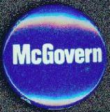 #PL093 - McGovern Round Pinback - Colors Vary